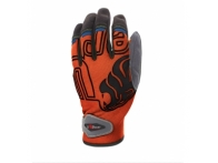 Guante BIKER Orange Fluor UPOWER