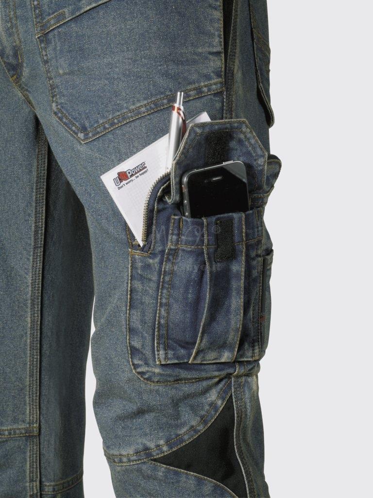 Pantalon Multibolsillos U Power Modelo Traffic